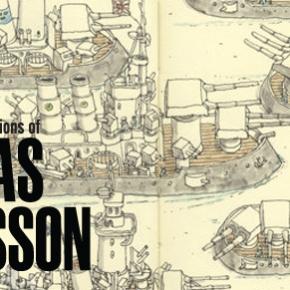 The sketchbook illustrations of MattiasAdolfsson
