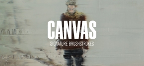 Canvas: Signature Brushstrokes