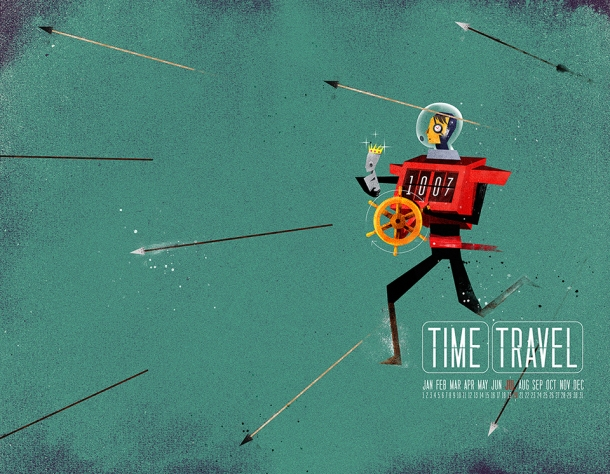 The Time Traveler_o